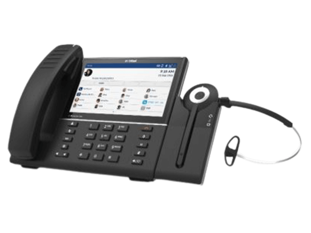 DECT Wireless IP Telefon MiTeam MiCollab Micollab TalkNview Premium Call Center Callcenter Cloud Telefonanlage collaboration Homeoffice Teleworker TalkNview DECT System voip Konferenztelefon Konferenz Telefon Homeoffice home office smart work smartwork